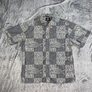 Reyn Spooner men's hawaiian graphic shirt M